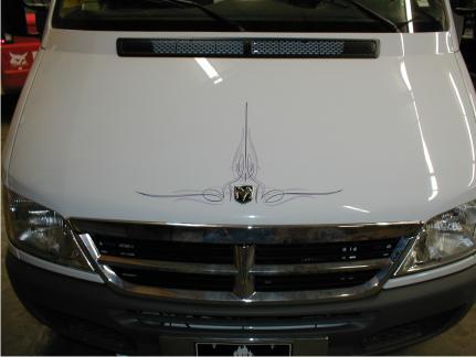 Randy Johnsen - Custom Pinstriping, Lettering & Vehicle ...
